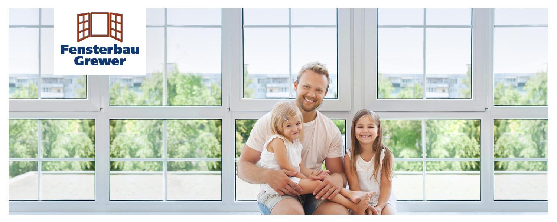 Slider Vater mit Kinder